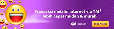 Dukungan Transaksi Melalui App Chat Yahoo Mseenger