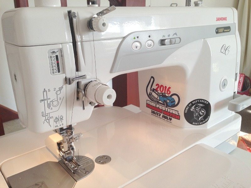 Mrs H - the blog: Janome 1600p QC Review by Judy