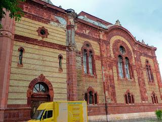 Ужгород. Колишня синагога 1904 р.