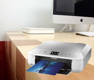PIXMA MG6822 White Silver Printer Driver Download
