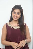 Nikki Galrani in a Brown Shining Sleeveless Gown at Nakshatram music launch ~  Exclusive 058.JPG