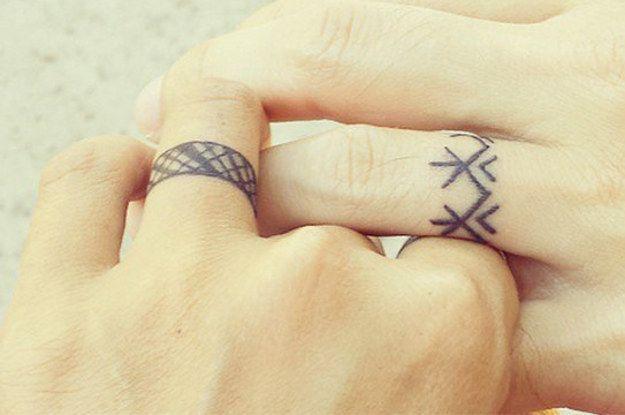 Hình xăm cặp đôi, những hình xăm đôi & cặp tình yêu dễ thương