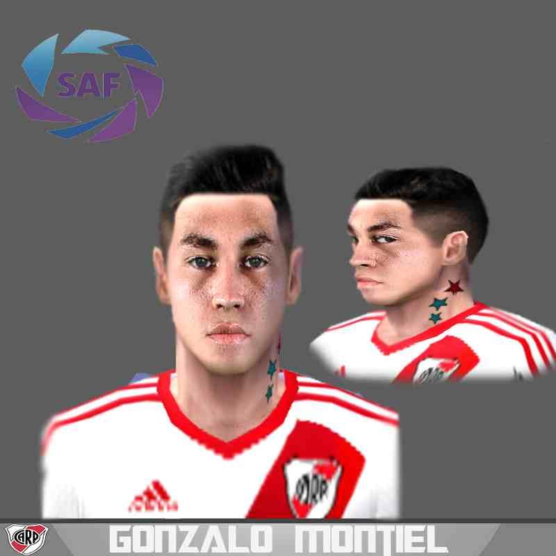 Ultigamerz Pes 2010 Pes 2011 Face: Ultigamerz: PES 6 Gonzalo Montiel (Club Atlético River