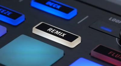Remix mode pada traktor Kontrol S5
