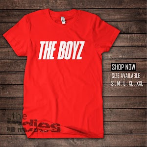 KAOS KPOP THE BOYZ MERAH (KK386)