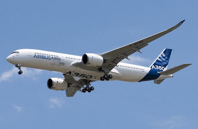 Gambar Pesawat Airbus A350 03