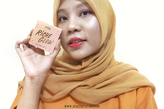Review Make Over Riche Glow Face Highlighter