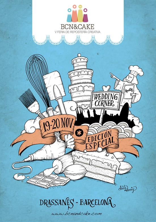 bcn&cake poster