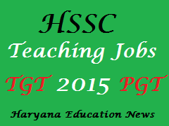image : HSSC Teaching Jobs 2015 @ Haryana Education News