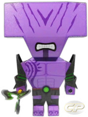 chibi papercraft of faceless void from dota 2