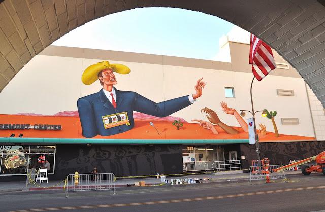 Street Art Mural By Interesni Kazki For The Rise Above Festival In Las Vegas, Nevada. 4