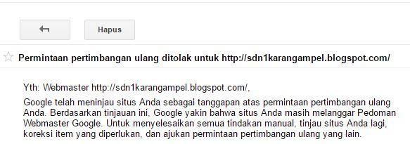 Cara Mengatasi Blog Terdeteksi Pengalihan Seluler Tersembunyi Oleh Google Webmasters Search Console