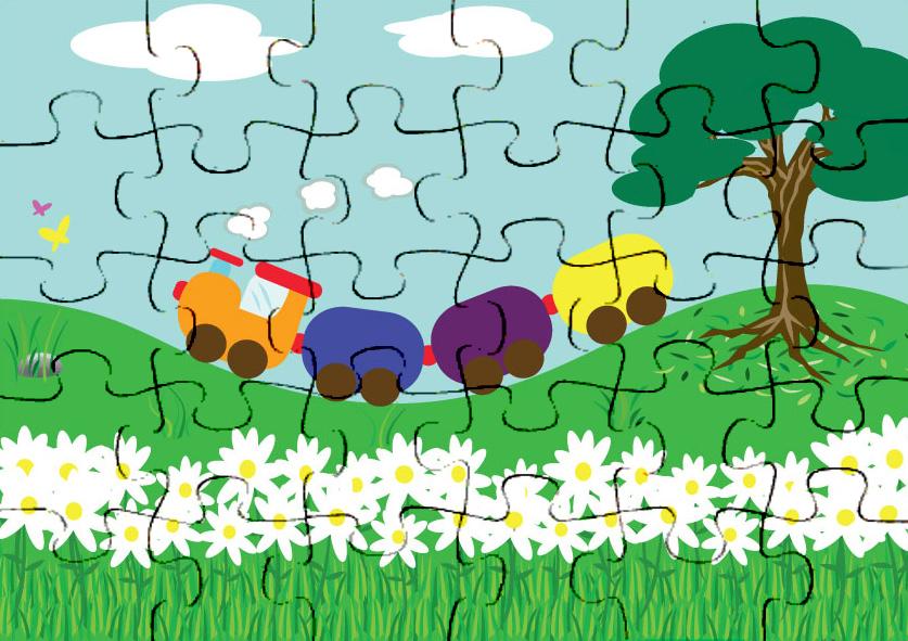 Colorido Angry Birds Personagens Vector: Quebra Cabeça Coloridos Para Recortar