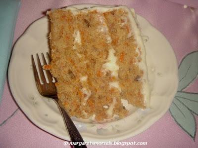 Margaret's Morsels | Carrot Cake
