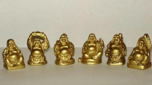 Tarot De La Zarina Los 6 Budas Sonrientes