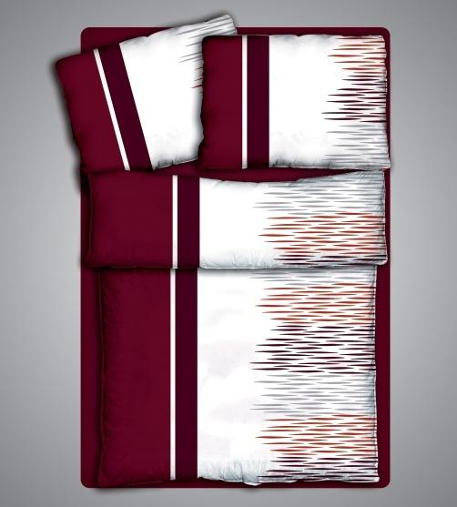 Ložní prádlo Jannet - bavlněný Jersey - 100% čistá bavlna - oboulícní úplet 140g/m2