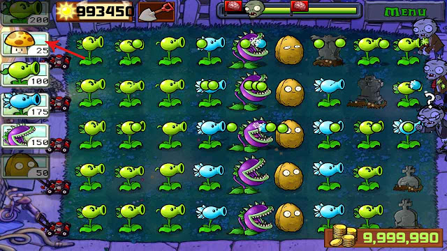 download plant vs zombie cheat mod apk
