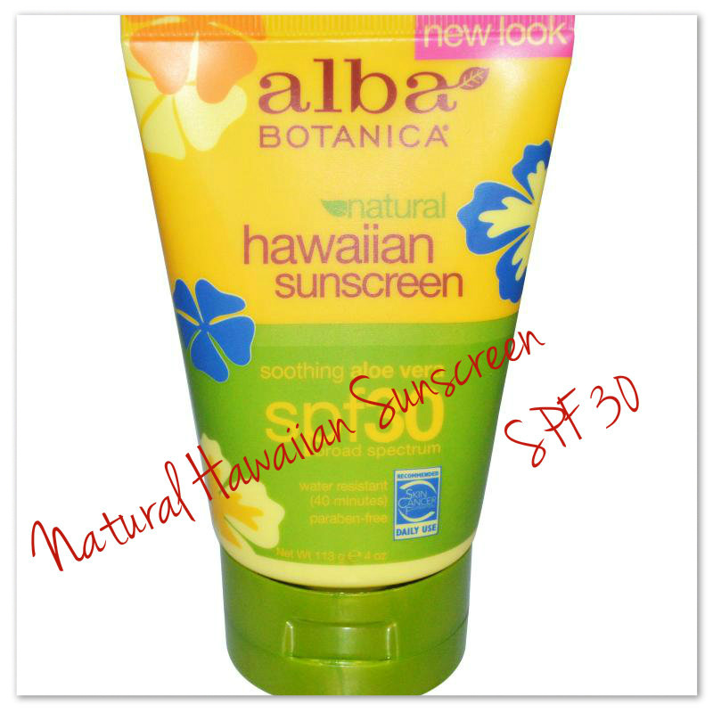 Alba Botanica, Natural Hawaiian Sunscreen, SPF 30
