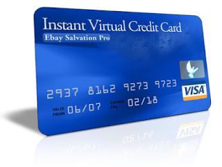 Vcc Virtual Credit Card Gratis Untuk Verifikasi Paypal
