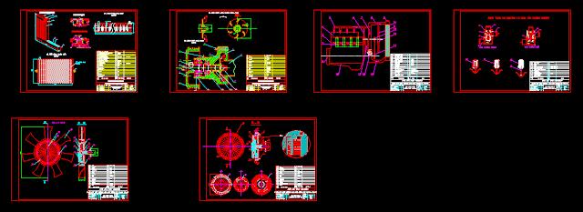 Bản vẽ khảo sát hệ thống làm mát động cơ ô tô TOYOTA 1TR-FE