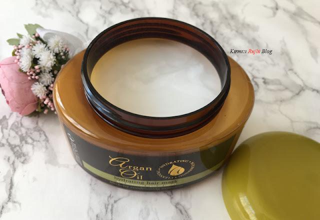 Argan oil maske