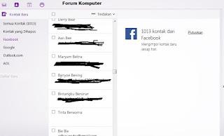 Cara Menyembunyikan dan Mengetahui Email Facebook Seseorang