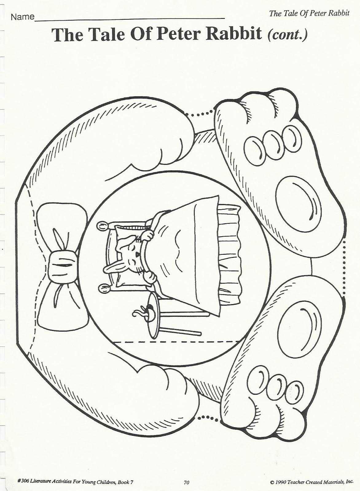 Squish Preschool Ideas Tale Of Peter Rabbit