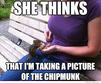 boob chipmonk meme