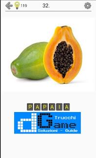 Soluzioni Frutti, verdure e noce livello 32