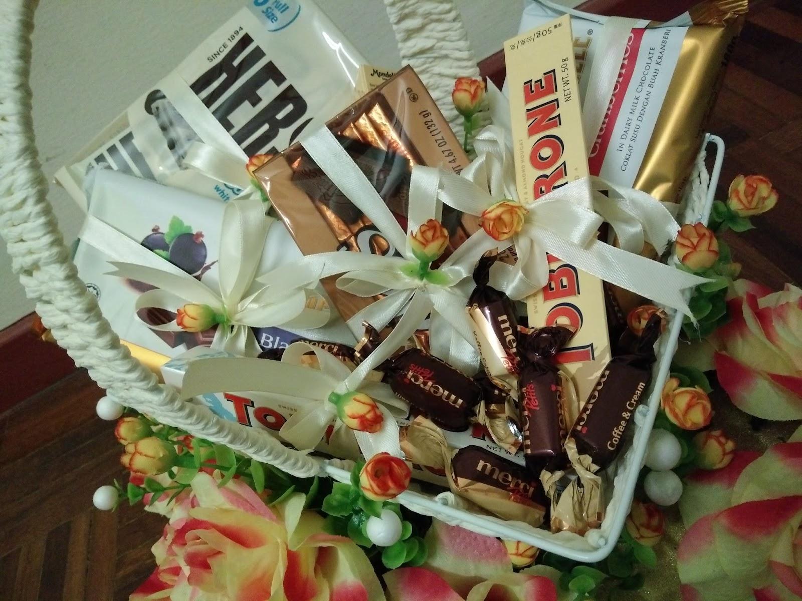 pin gubahan hantaran cokolat - photo #39