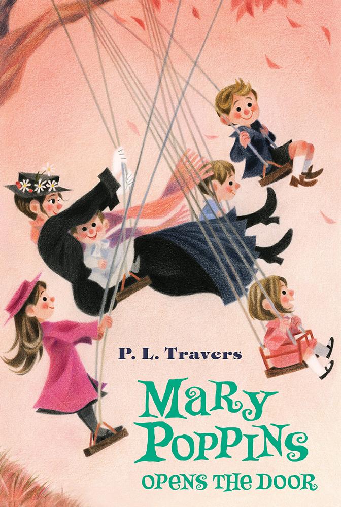 roseapetitspois Mary Poppins opens the door