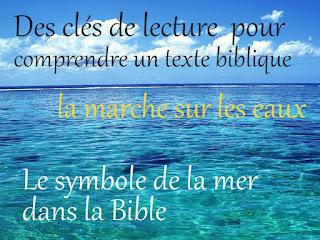 Le symbole de la mer dans la Bible
