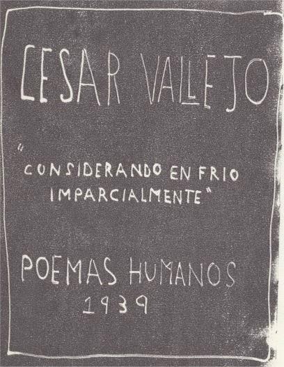 Para qué escribo?: Considerando en frío, imparcialmente - César Vallejo