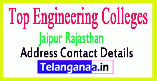 Top Engineering Colleges in Jaipur Rajasthan