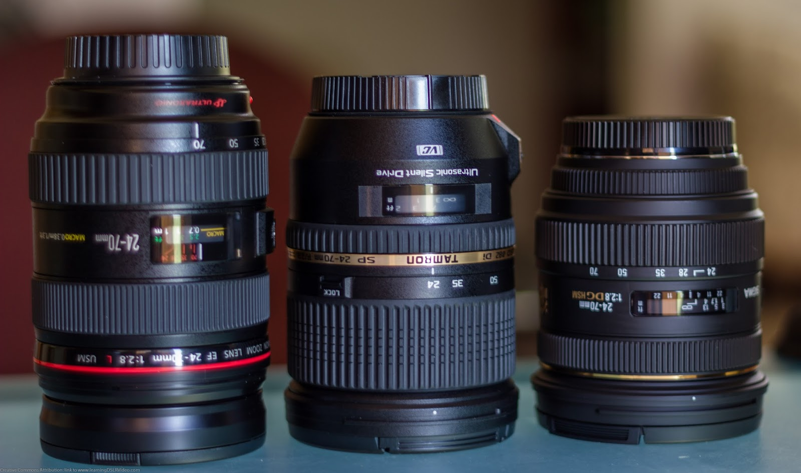 A Lens For Every Need An Introduction To Dslr Lenses Part 1 Sigma 50mm F 28 Ex Dg Macro Canon 24 70 From Tamron And Left Right Courtesy Source Flickrcom Author Dave Dugdale