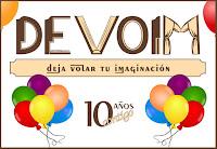 Sorteo 10º Aniversario [blog y redes de Deja volar tu imaginación]