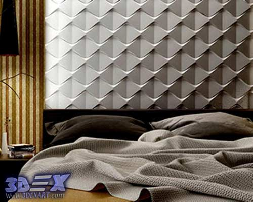 Decorative Wall Panels For Bedroom : Decorative d gypsum wall panels and plaster paneling