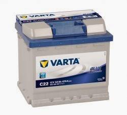varta blue dinamik serisi oto aküsü fiyatları 12 volt 52 amper