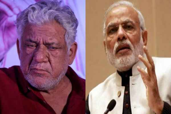 PM Narendra Modi mourn as Om Puri Passed away