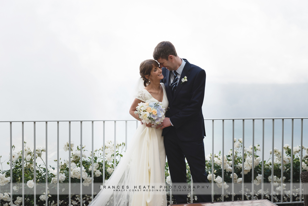 Wedding in misty Ravello