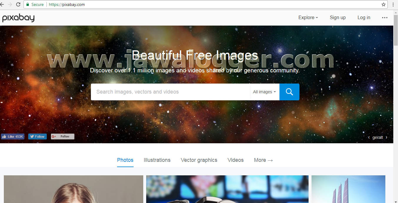 website gambar foto gratis