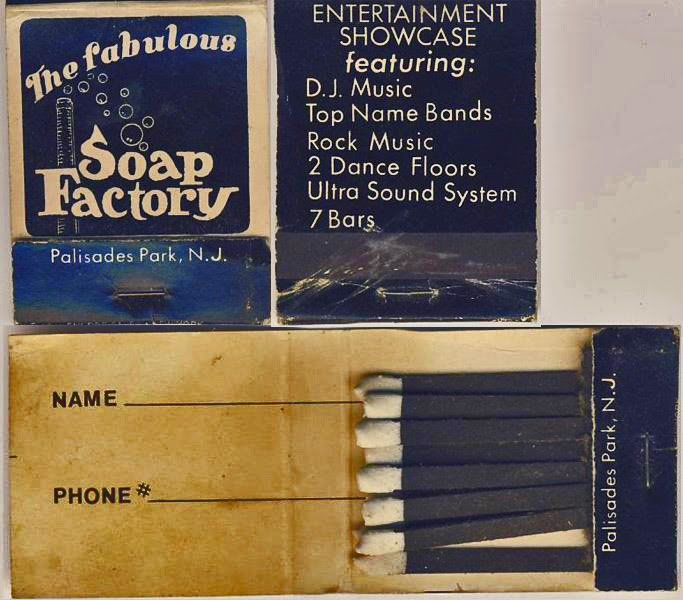 The Soap Factory club match books