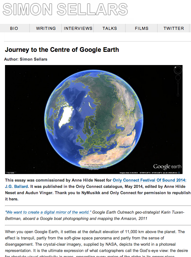 Google Earth Users Guide Project (with ArcGIS Online and