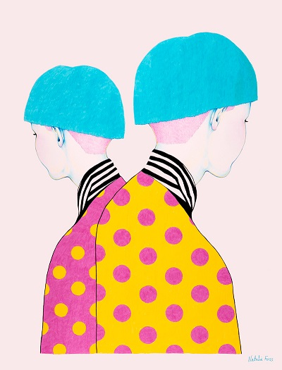 Ilustración por Natalie Foss | creative emotional illustration art drawings, cool stuff, pictures | imagenes chidas imaginativas bonitas