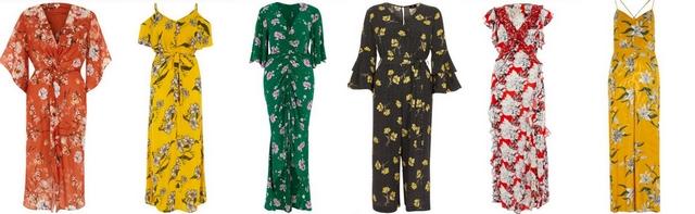 Lente zomer trend 2018 bloemenprint floral pattern bloemetjes jurk rok mode blogger inspiratie River Island