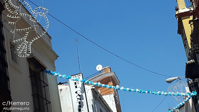 Salida procesional de la Virgen del Águila de Alcalá de Guadaíra