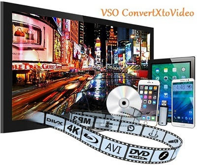 تحميل برنامج محول صيغ الفيديو VSO ConvertXtoVideo
