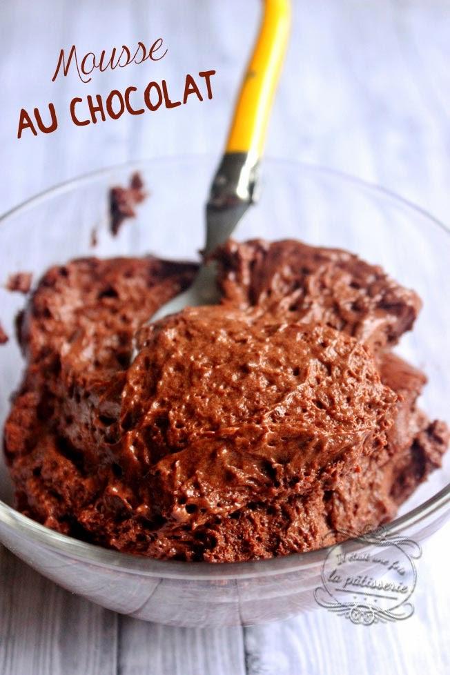 mousse au chocolat pâte à bombe