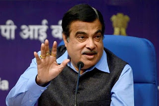 raipur-gadkari-the-union-minister-arrived-in-chhattisgarh