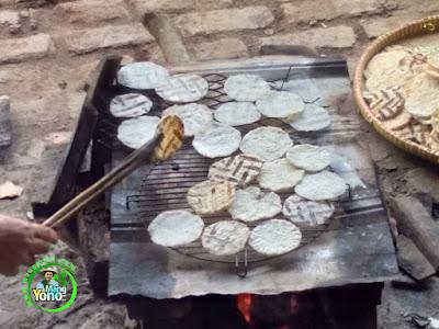 Panggang OPAK KETAN Kuliner Tradisional Sunda